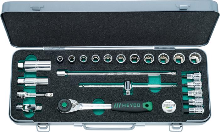 "44-0010-M Socket Set, 3/8"", 23 pcs."