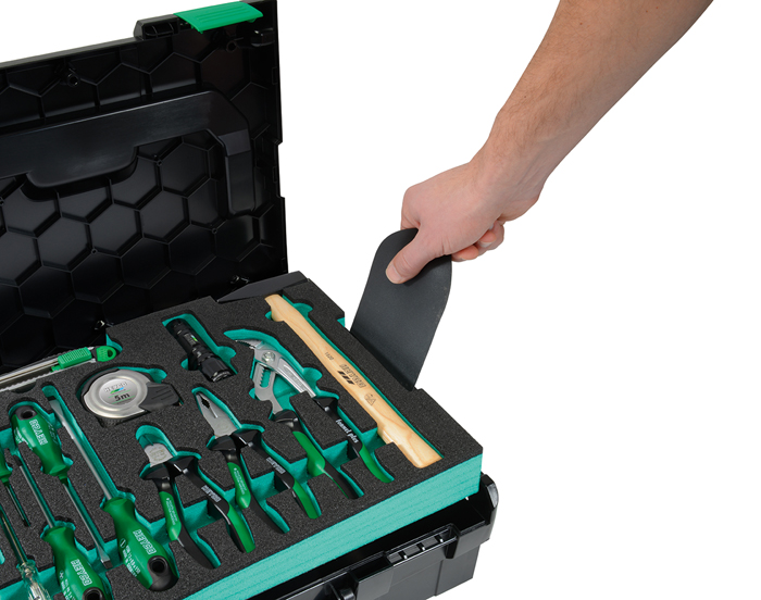 00200678082 Tool set Expert in L-Boxx, 77 pcs., MM