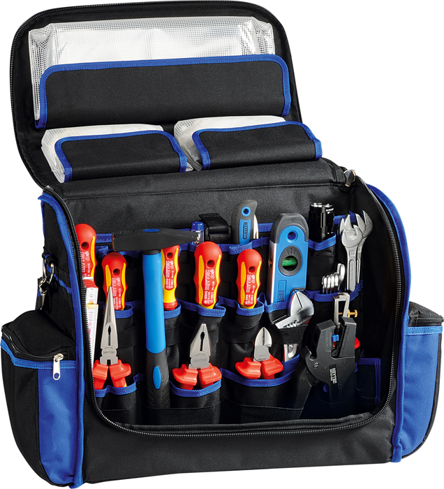 50848-26 Electricians bag with VDE tool set, 26 pcs.