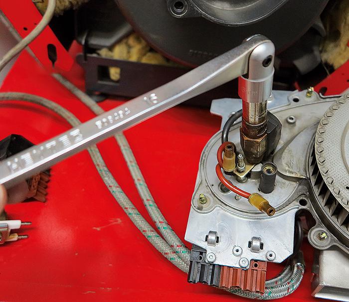 50849401680 Oil burner key