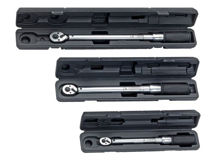 50885 Torque wrenches with reversible ratchet