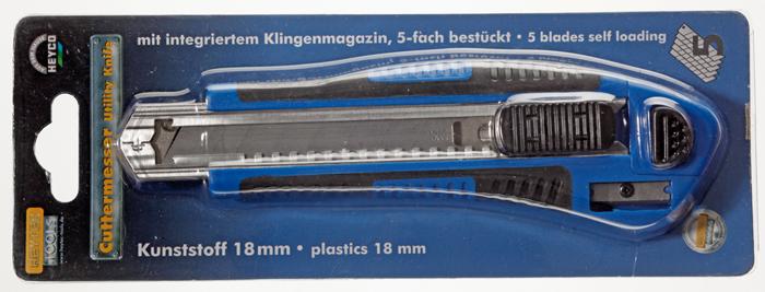 5081669 Utility knife, 18 mm