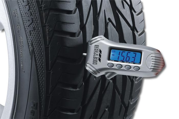 1857 Digital Tyre Gauge with 3 function in sales display